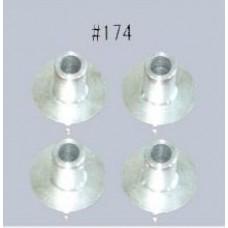 H174 Aludistanzscheibe 90FS